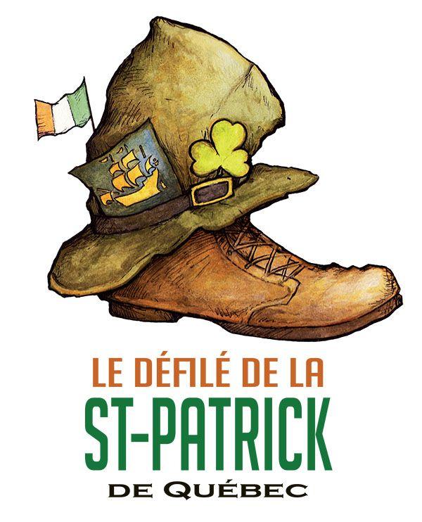 Logo défilé de la St-Patrick de Québec