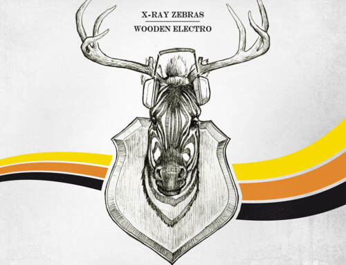 X-Ray Zebras – Wooden electro