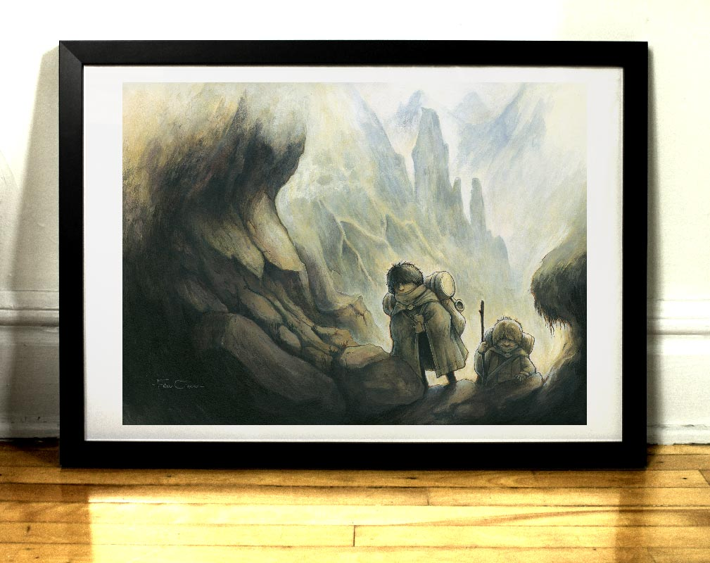 L'ascension art print Felix Girard