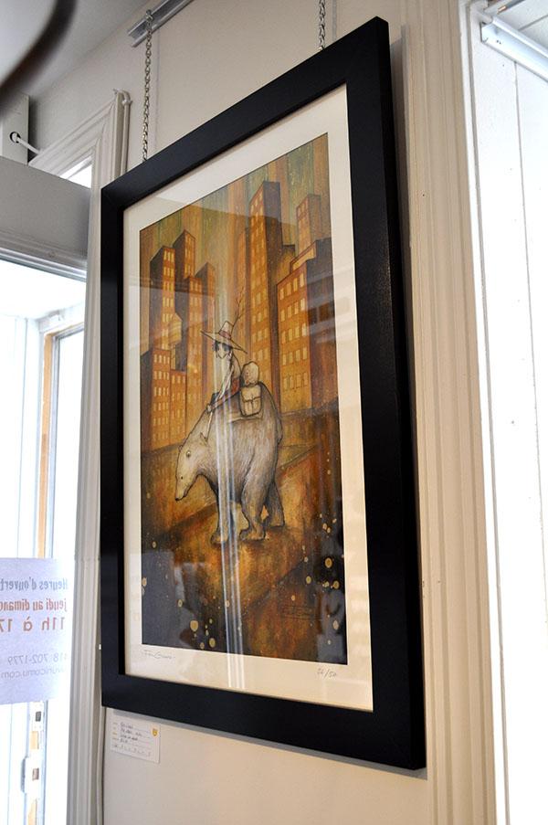 Felix Girard illustrateur à la galerie Ni Vu Ni cornu