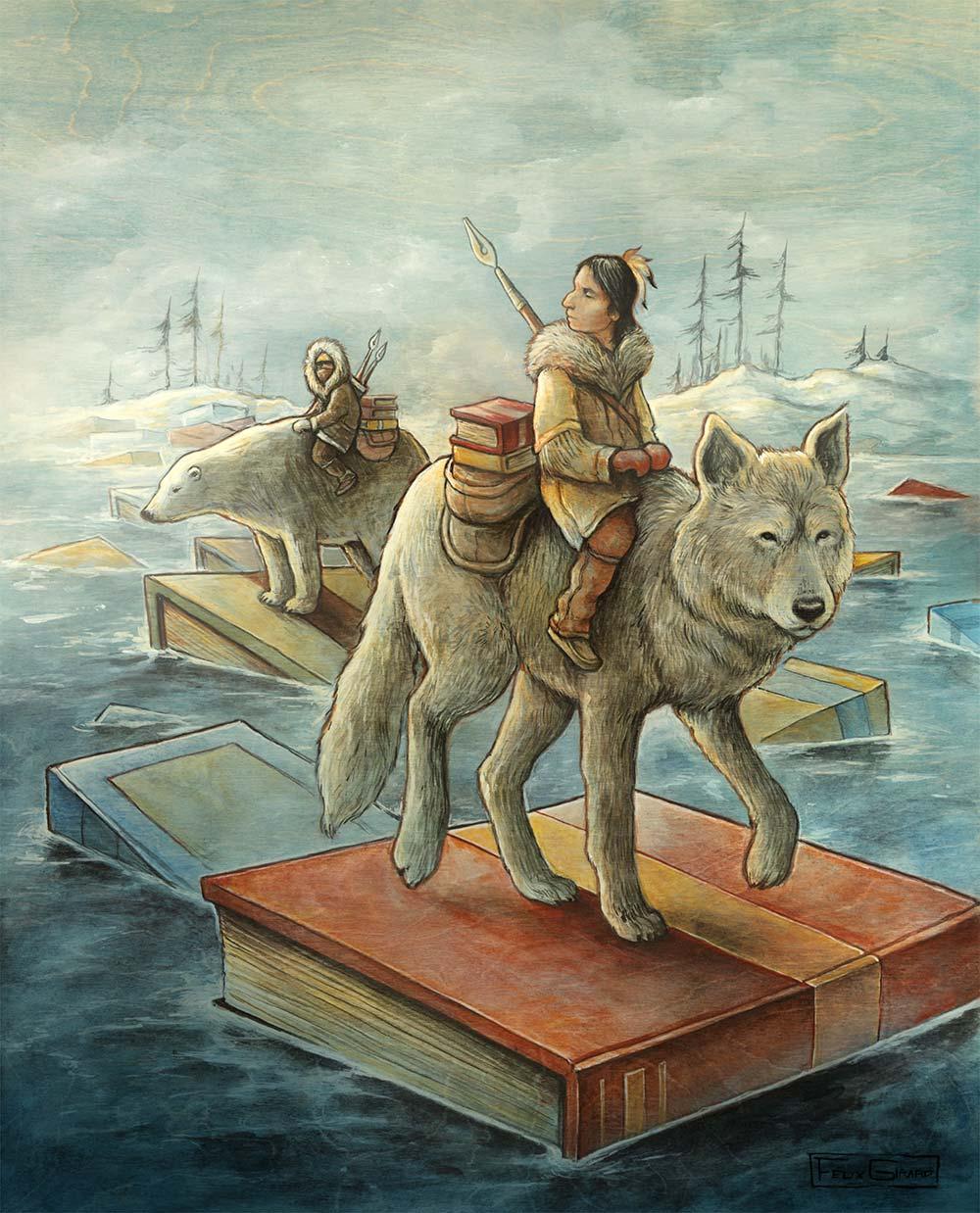 Les Passeurs par Félix Girard