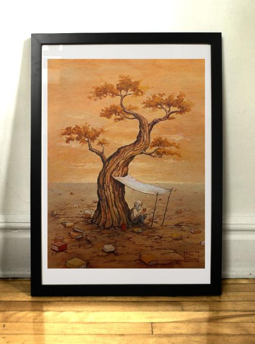 Art print Le Desert par Félix Girard