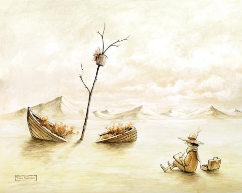 L'épave par Félix Girard