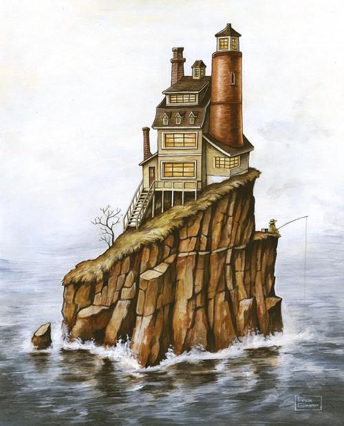 Peinture à l'acrylique par l'artiste Félix Girard