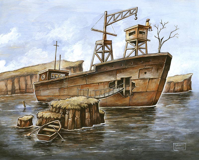 Peinture de Félix Girard