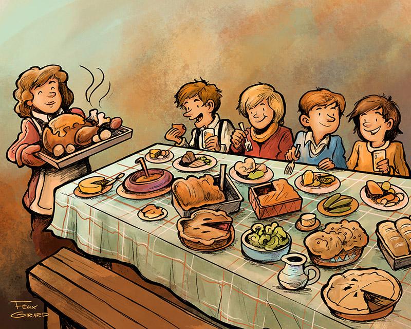 bd par l'illustrateur Félix Girard