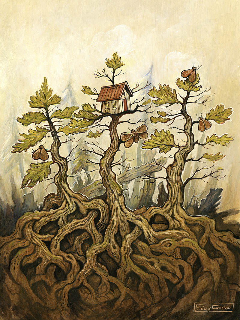 Illustration par Felix Girard artiste