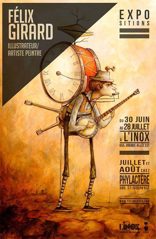 Expositions à L'INOX et chez Phylactère