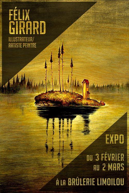 Exposition à la Brûlerie Limoilou