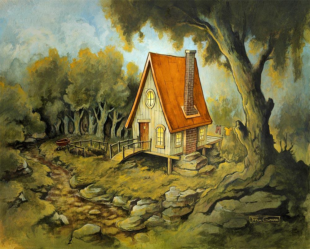La Maison dans la forêt